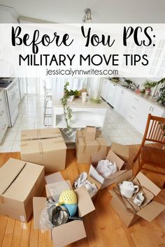 Do you have an upcoming PCS ? Here are things you can do NOW while you wait for your upcoming military move.