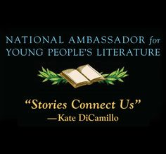 Kate DeCamillo named National Ambassador for Young People's Literature 2014-2015!