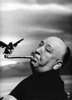 Alfred Hitchcock por Philippe Halsman