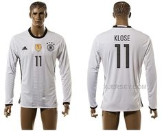 http://www.xjersey.com/germany-11-klose-home-euro-2016-long-sleeve-thailand-jersey.html GERMANY 11 KLOSE HOME EURO 2016 LONG SLEEVE THAILAND JERSEY Only 33.11€ , Free Shipping!
