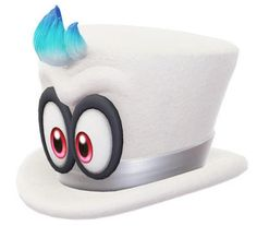 Nintendo grabs Cappy trademark for merch and more   Just like the Super Mario Odyssey trademark earlier today Nintendo has also filed for a trademark for Cappy. They plan to use the trademark for clothing hats toys Christmas decorations and more. We're talking about the original form of Cappy seen above and not Cappy as Mario's hat.  from GoNintendo Video Games