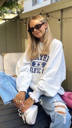 Indie Outfits, Teen Fashion Outfits, Retro Outfits, Cute Casual Outfits, Cute Outfits For Girls, Girl Fashion, Trendy Summer Outfits, Teen Girl Outfits, Sporty Outfits