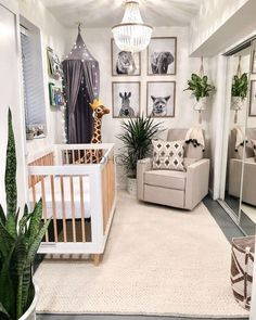 Baby Boy Room Decor, Baby Room Design, Baby Boy Rooms, Nursery Design, Baby Boy Nurseries, Room Baby, Jungle Baby Room, Nursery Layout, Jungle Nursery