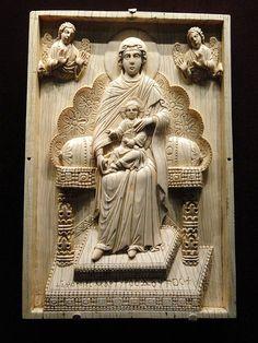Byzantine ivory plaque. Cleveland Museum of Arts
