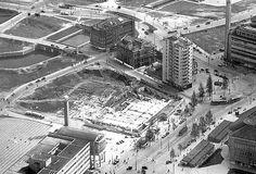 1948. De Coolsingel wederopbouw.