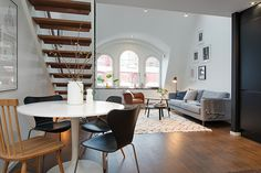 Charming Duplex Apartment in Central Stockholm Infused With Light - http://freshome.com/2014/09/03/charming-duplex-apartment-in-central-stockholm-infused-with-light/