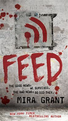 Feed By: Mira Grant - I wish the main character/narrator was a bit more flawed, but I still ravenously read this. Now I just have to get the next book in the trilogy.