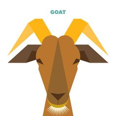 illustrations simple shapes animals goat geometric animal drew illustration thedesigninspiration drawings vector inspiration elements abstract easy drawing browsing currently character