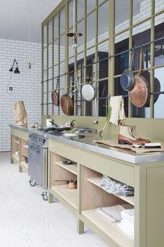 Plain English Marylebone Showroom   'The Osea Kitchen' by Plain English   www.plainenglishdesign.co.uk: