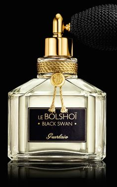 Le Bolshoi Black Swan by Guerlain is a Floral Woody Musk fragrance for women.  Top note is citruses; middle notes are jasmine, tea & sandalwood; base note is white musk.