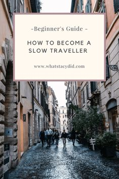 8 Top Tips On How To Become A Slow Traveller - A Beginner's Guide. All travel is an adventure, but some destinations offer more adventure than others. Get out there and savor the adventure at whatever level you choose. Slow Travel, Pet Travel, Travel Usa, Travel Europe, Travel Guides, Travel Tips, Travel Packing, Travel Backpack, Travel Essentials