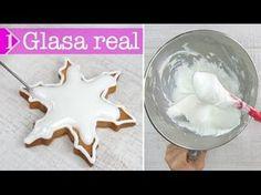Glasa real para galletas: aprende a lograr puntos medio y fluido