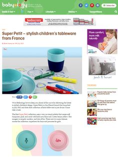 Stylish children's tableware from France - Babyologie