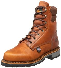 $169, American Heritage 8 Non Safety Boot by Thorogood. Sold by Amazon.com. Click for more info: http://lookastic.com/men/shop_items/116177/redirect