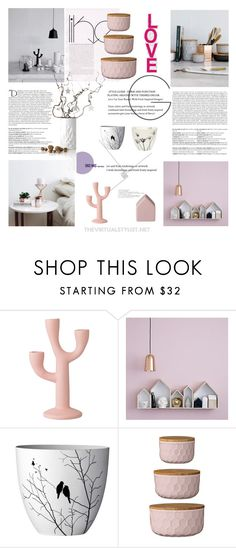 """Deco love"" by efashiondiva7 ❤ liked on Polyvore featuring interior, interiors, interior design, home, home decor, interior decorating, Bloomingville and Balmain"