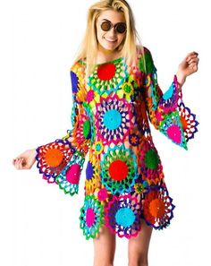 UNIF Psych Out Dress   Dolls Kill