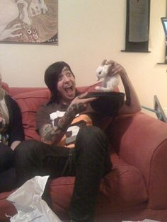 Tony Perry is a magician. I don't know why but I could literally look at this all day. It amuses me so much