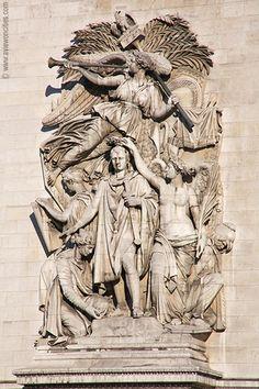 Arc de Triomphe relief