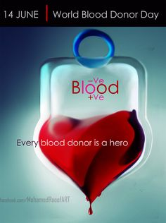 Blood donor day poster by *mohamedraoof on deviantART