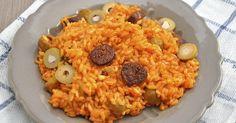 risotto-a-la-tomate-au-chorizo-et-aux-olives