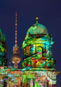 Berlin Germany Festival of lights ...