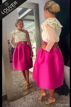 Uno de esos conjuntos que nos enamoran de nuestra nueva colección; blusa Belinda…