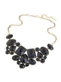 Beautiful Fashion Short Clavicle Gemstone Necklace