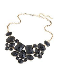 Beautiful Fashion Short Clavicle Gemstone Necklace
