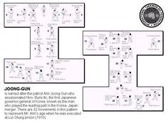 Chon-Ji | Taekwondo forms, Martial and Exercises