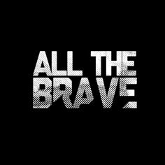 All The Brave (Logo Design) by Peter Crafford, via Behance