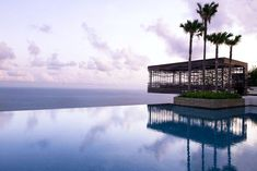 The World's Most Epic Infinity Pools #refinery29 http://www.refinery29.com/best-infinity-pools#slide-11 Aspirational: Alila Villas Uluwatu, Bali The crème de la crème of Bali's infinity pools, the cliff-top wonder at Alila Villas Uluwatu even has private cabanas, perfect for lounging in and lapping up the goddamn luxury.