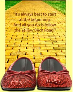 Use the first half of quote for a cute sign - Wizard Of Oz