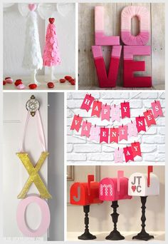 """Maybe do the """"Love"""" idea, but with the first letter of my last name"""