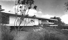 Casa de Calle Nubes, Calle Nubes 309, Jardines del Pedregal, México DF 1957 Arqs. Francisco Artigas y Fernando Luna Foto. Roberto y Fernando Luna