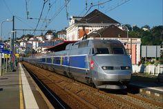 TGV. Saint Jean de Luz (Basque Country, France).