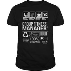 Awesome Tee For Group Fitness Manager T-Shirts, Hoodies. SHOPPING NOW ==►…