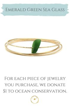 Dainty gold sea glass bracelet made with authentic sea glass from Panama. Bracelet Making, Jewelry Making, Dainty Gold Jewelry, Sea Glass Jewelry, Jewelry Shop, Panama, Bangle Bracelets, Inspired, Beach