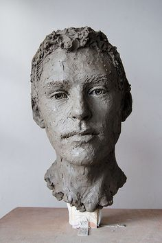Suzie Zamit - Marco, Lifesize clay