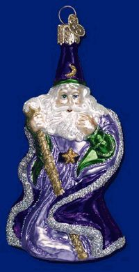 Wizard Glass Ornament by Old World Christmas