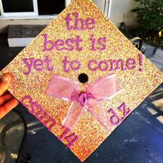 ctinab: My graduation cap! So excited!