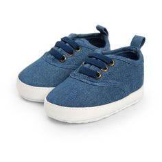 7a069eb09ab3 Infant Baby Boy Casual Lace up Shoes First Walkers