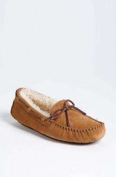 UGG® 'Dakota' Slipper (Women) in Chestnut