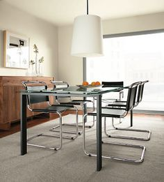Lange Chairs in Leather - Chairs - Dining - Room & Board