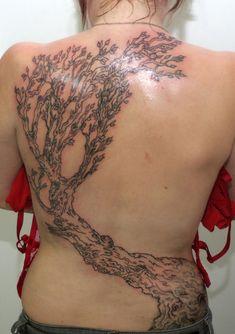 6 tree tattoo