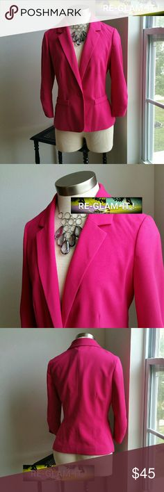 NEW DIRECTIONS....GORGEOUS PINK ...BLAZER.. ...ADDING INFO SOON..EXCELLENT CONDITION  ...LIKE NEW...NO FLAWS... new directions Jackets & Coats Blazers