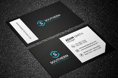 Modern Business Card Template by Made by Arslan on @creativemarket