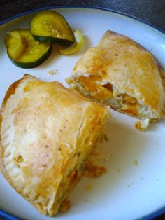 The Vegetarians Abroad: Tracey Cornish Vegetarian Pasties