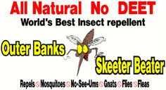 Outer Banks Skeeter Beater | No DEET Insect Repellent