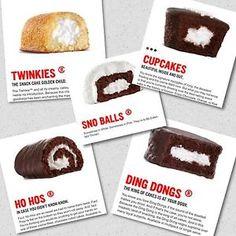 Super Bowl Hostess Twinkies HO Hos Ding Dongs Cupcakes Sno Balls Free Shipping | eBay
