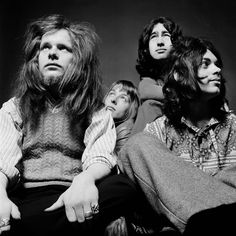 Paul Kossoff front and left of center. Guitar God! I named my Dog in honor of the great man but now i call him Kossie